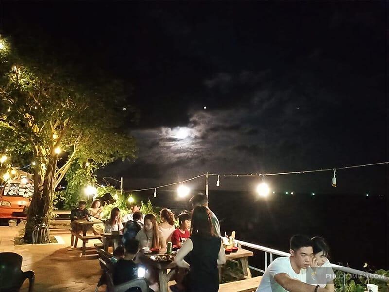 quẩy DJ buổi tối tại rái cá