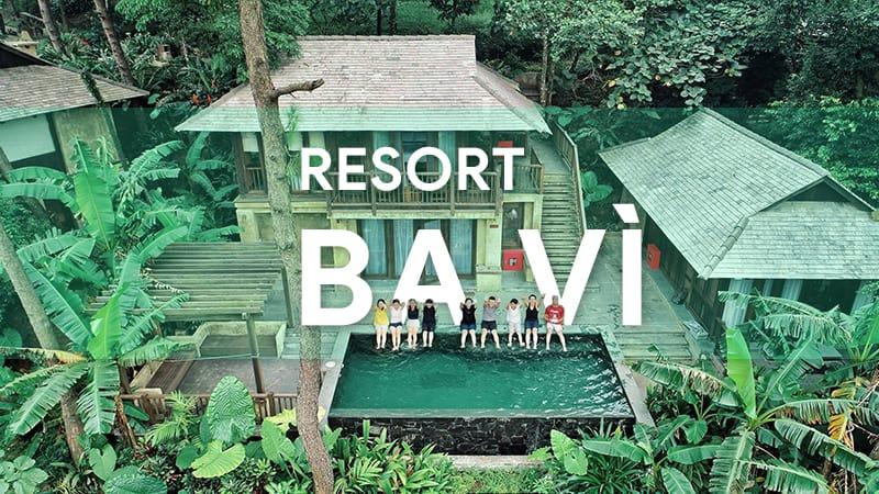 list resort ba vì