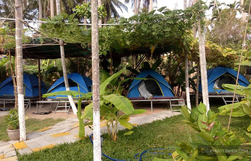 thuê lều tại homestay