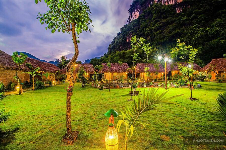tam cốc rice fields resort
