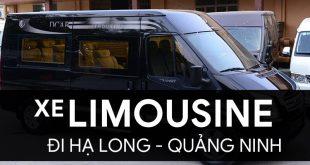 xe limousine hạ long