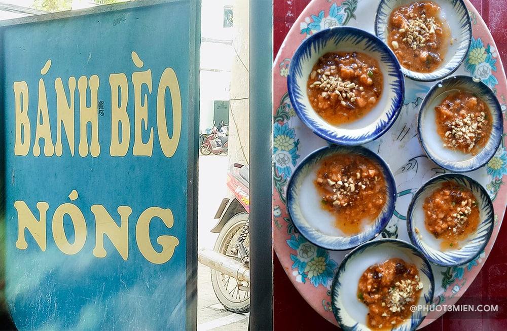 bánh bèo nóng - ăn vặt ở đà nẵng