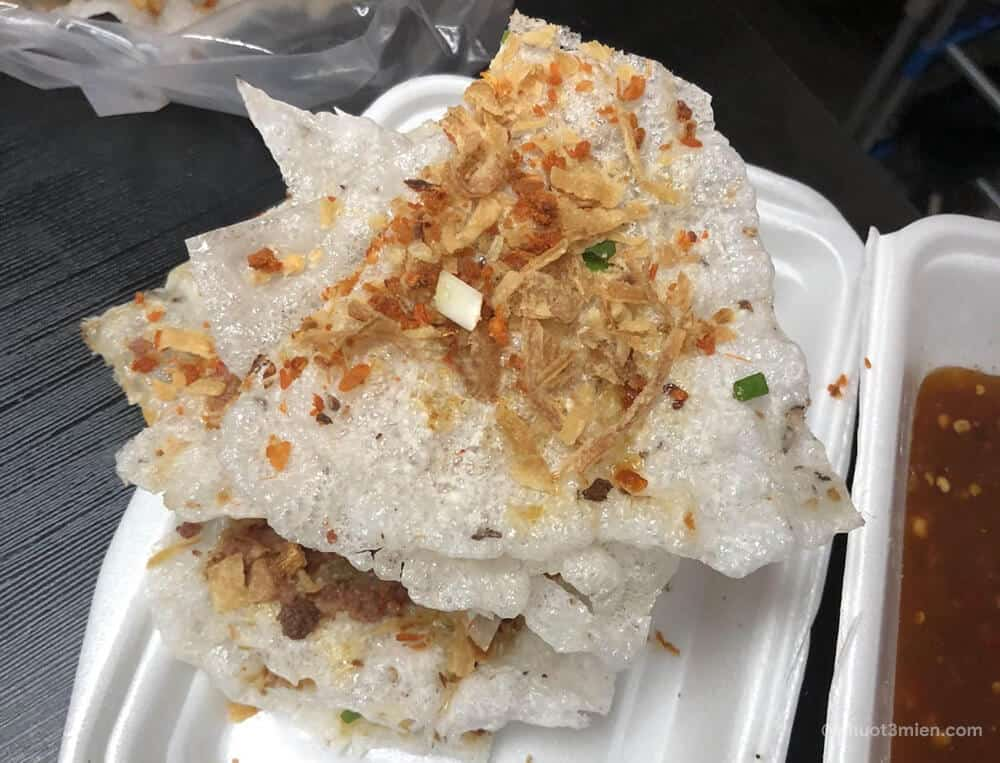 bánh tráng nướng dì hoa - ăn vặt đà nẵng