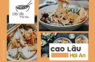 món đặc sản Cao Lầu