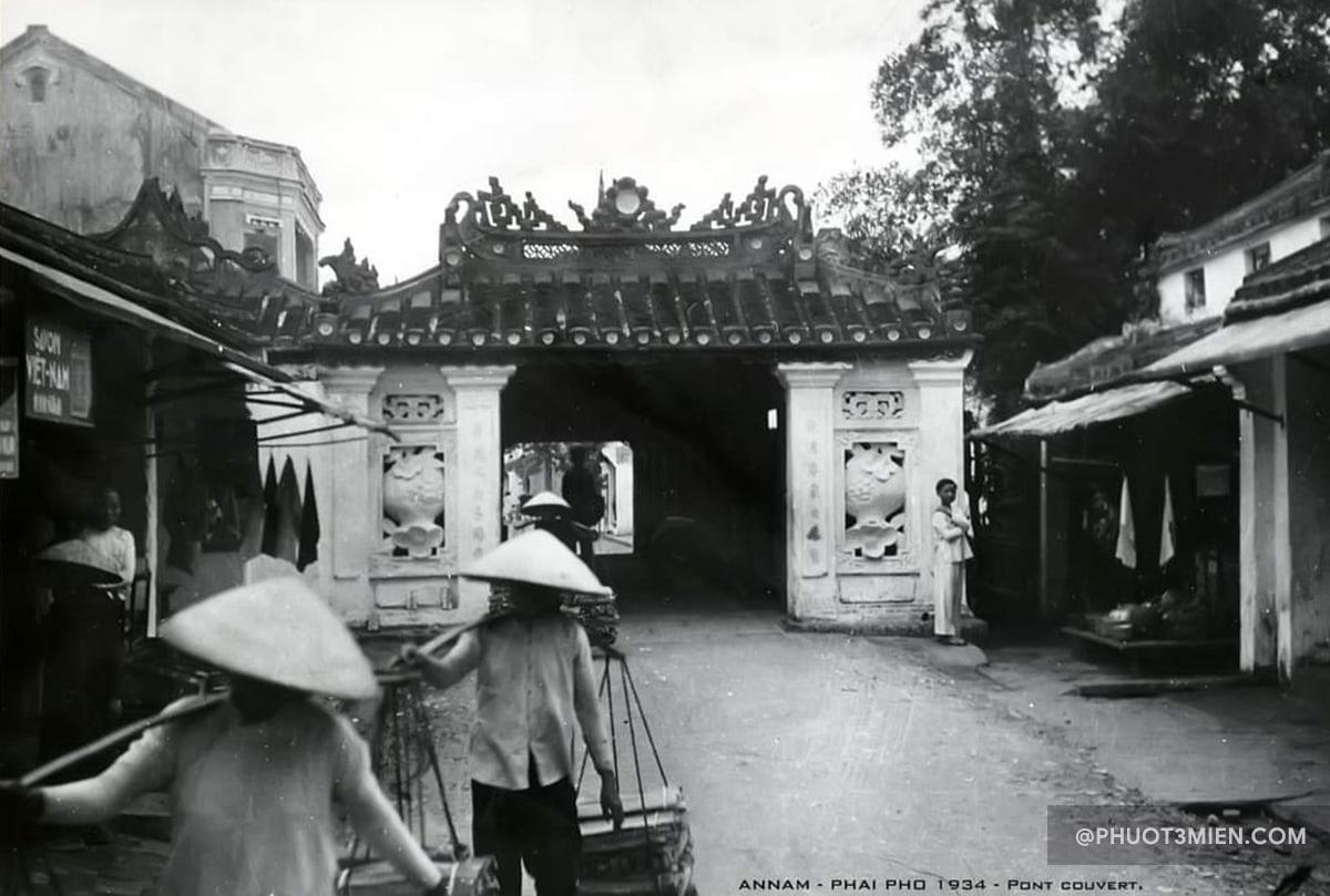 chùa cầu nhật bản xưa