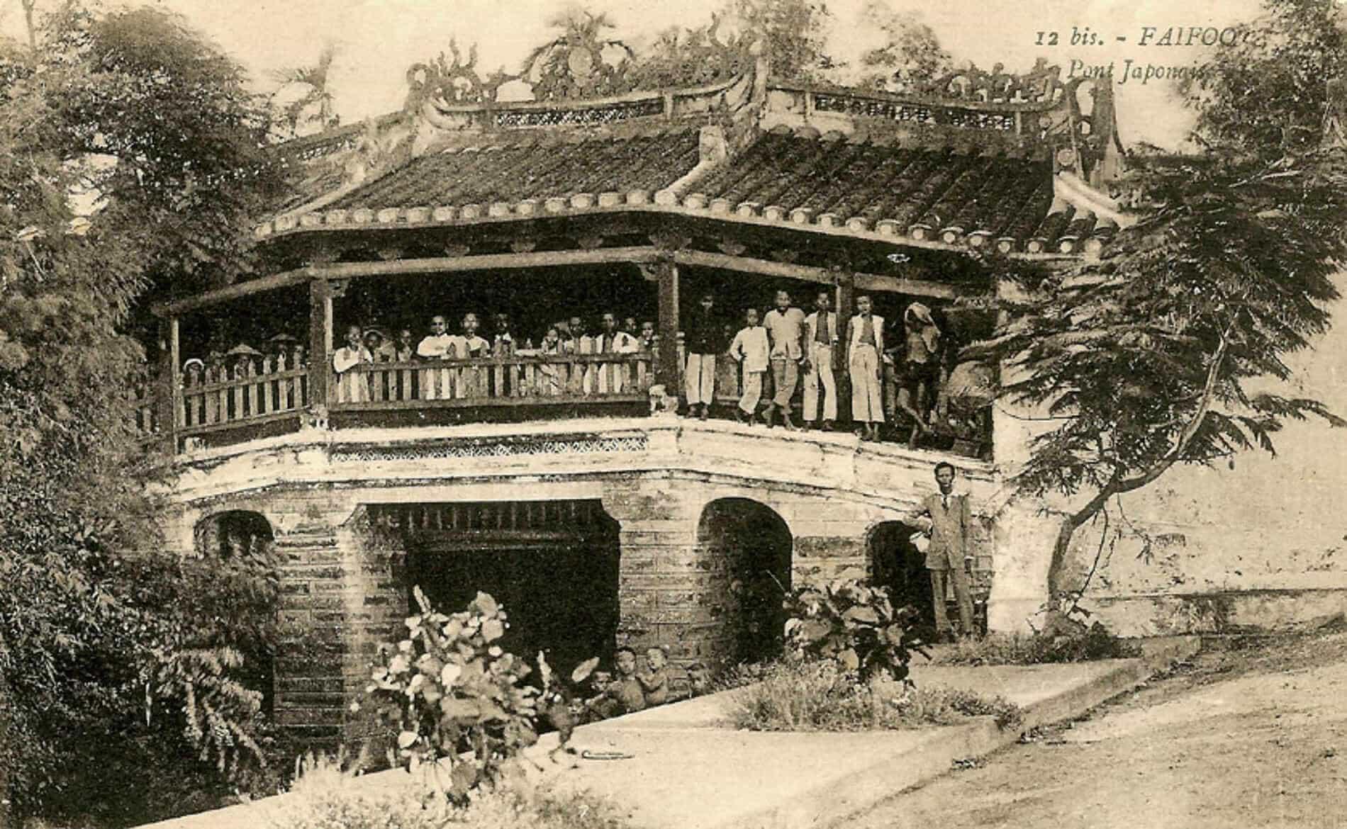 chùa cầu thời xưa