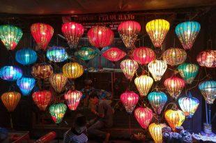 Cơ sở bán đèn lồng hội an