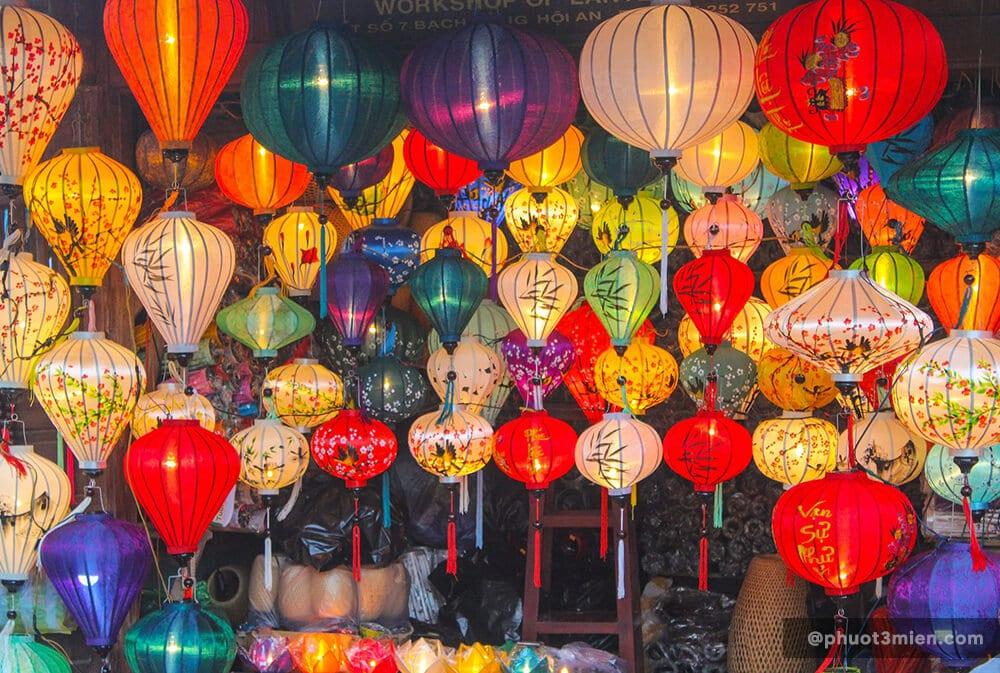 Đèn Lồng Hội An - những sắc màu lung linh về đêm ở Phố Hội