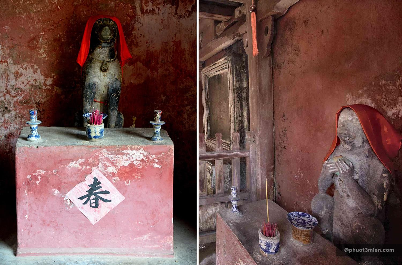 linh vật ở chùa cầu