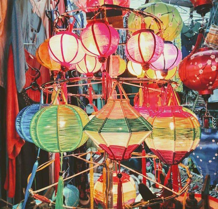 lồng đèn hội an đầy sắc màu