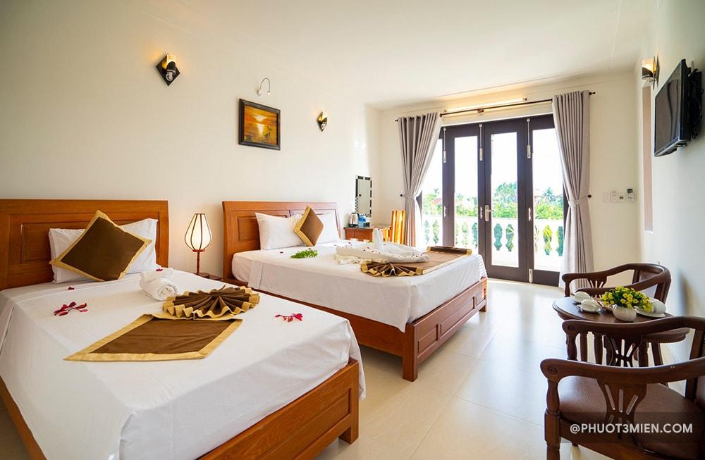 phòng ngủ tại luna villa