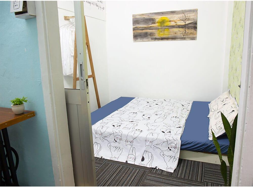 phòng ngủ tại homestay