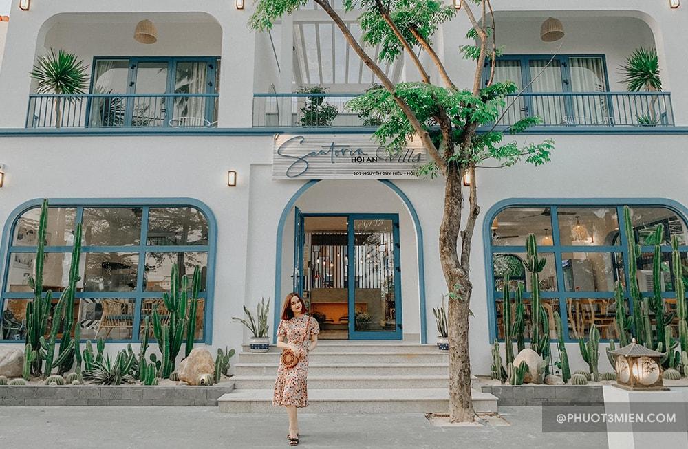 hội an villa santorin