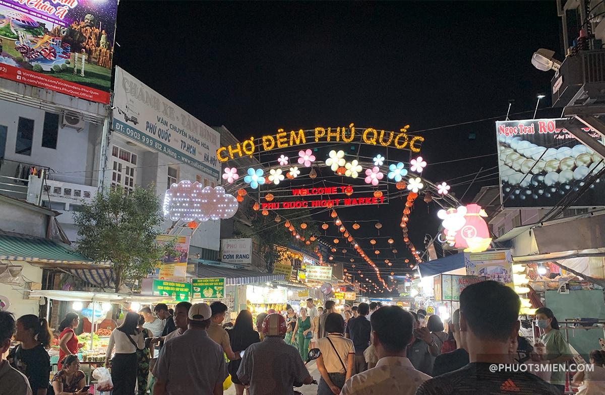 cổng chợ đêm phú quốc
