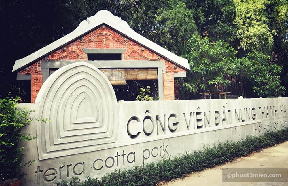 công viên làng gốm thanh hà