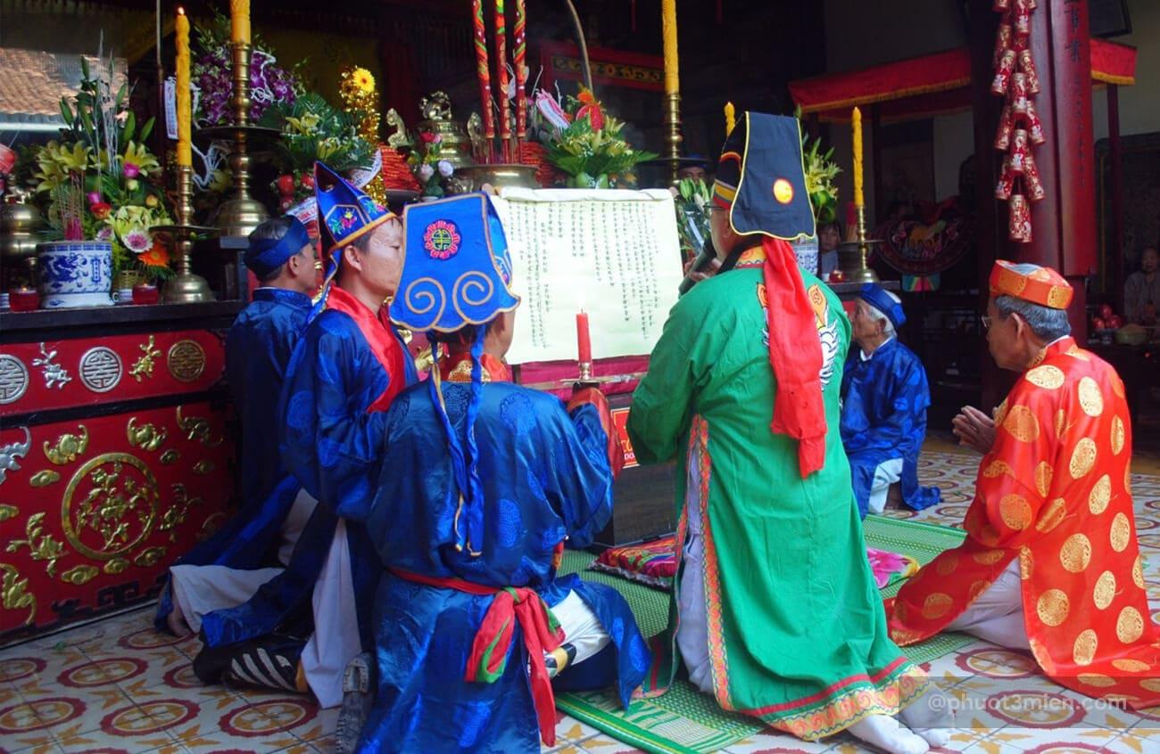 lễ vía làng mộc kim bồng