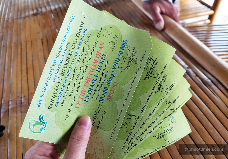 vé tham quan rừng dừa bảy mẫu