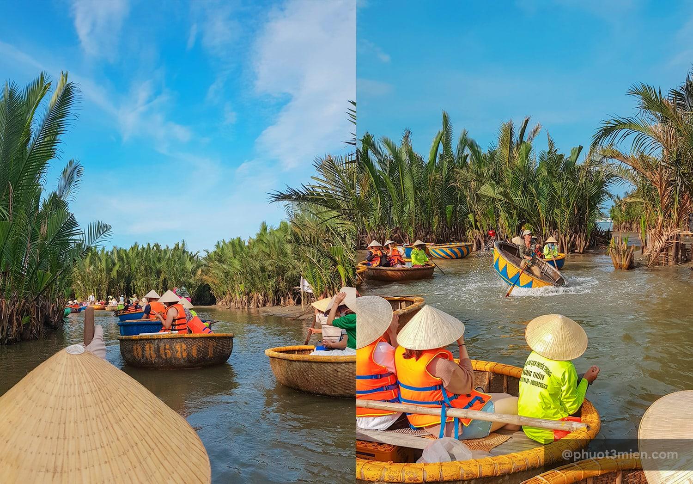 cảnh đẹp rừng dừa bảy mẫu