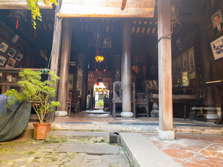 không gian trong nhà cổ