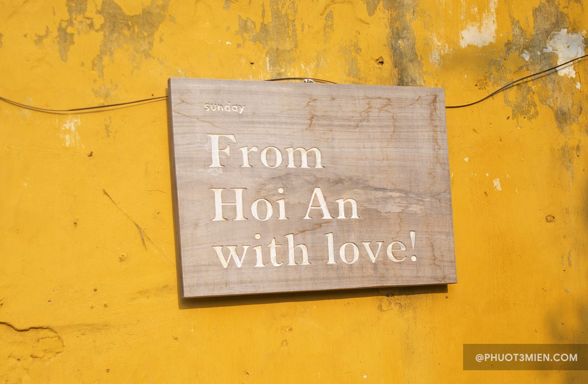 from hội an with love