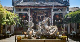 khuôn viên hội quán Quảng Đông