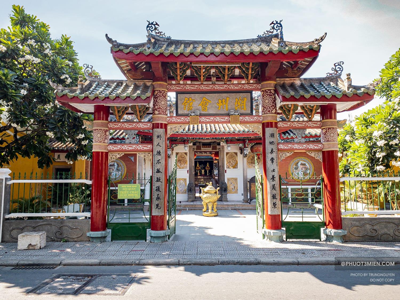 cổng chính hội quán triều châu