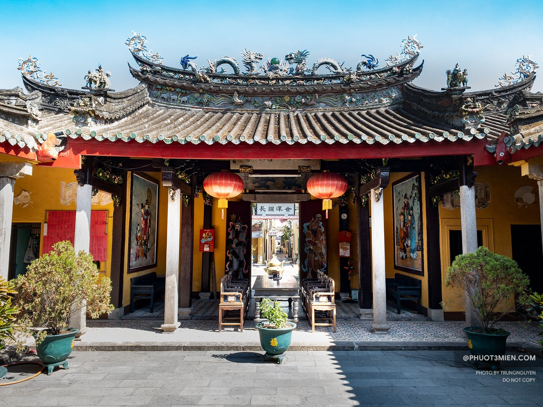 phòng tiếp khách hội quán triều châu