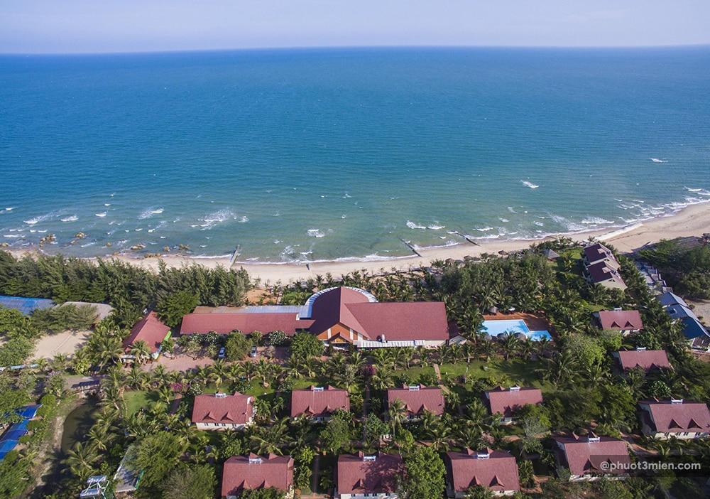 biển tại resort