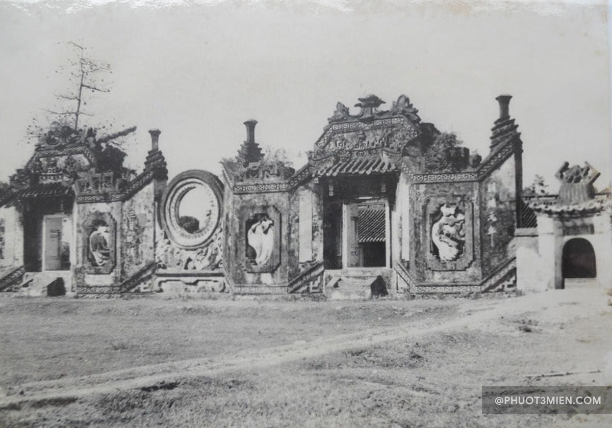 cổng tam quan chùa mà mụ thời xưa