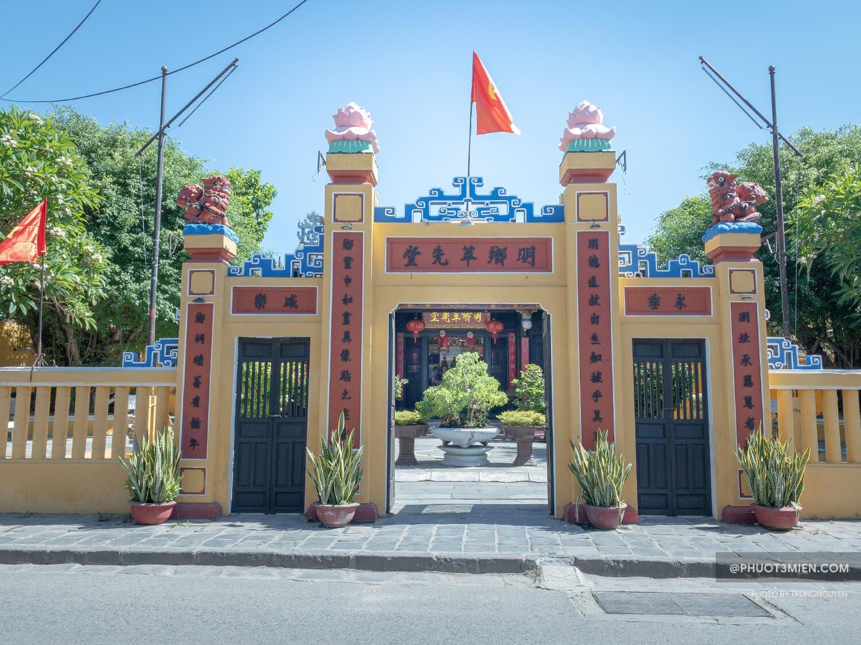 cổng tụy tiên đường Minh Hương