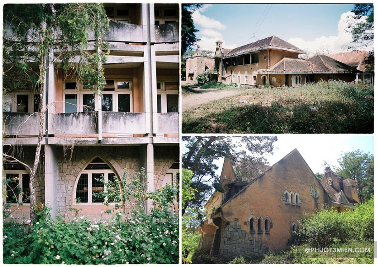 Nhà dòng mang kiến trúc Gothic