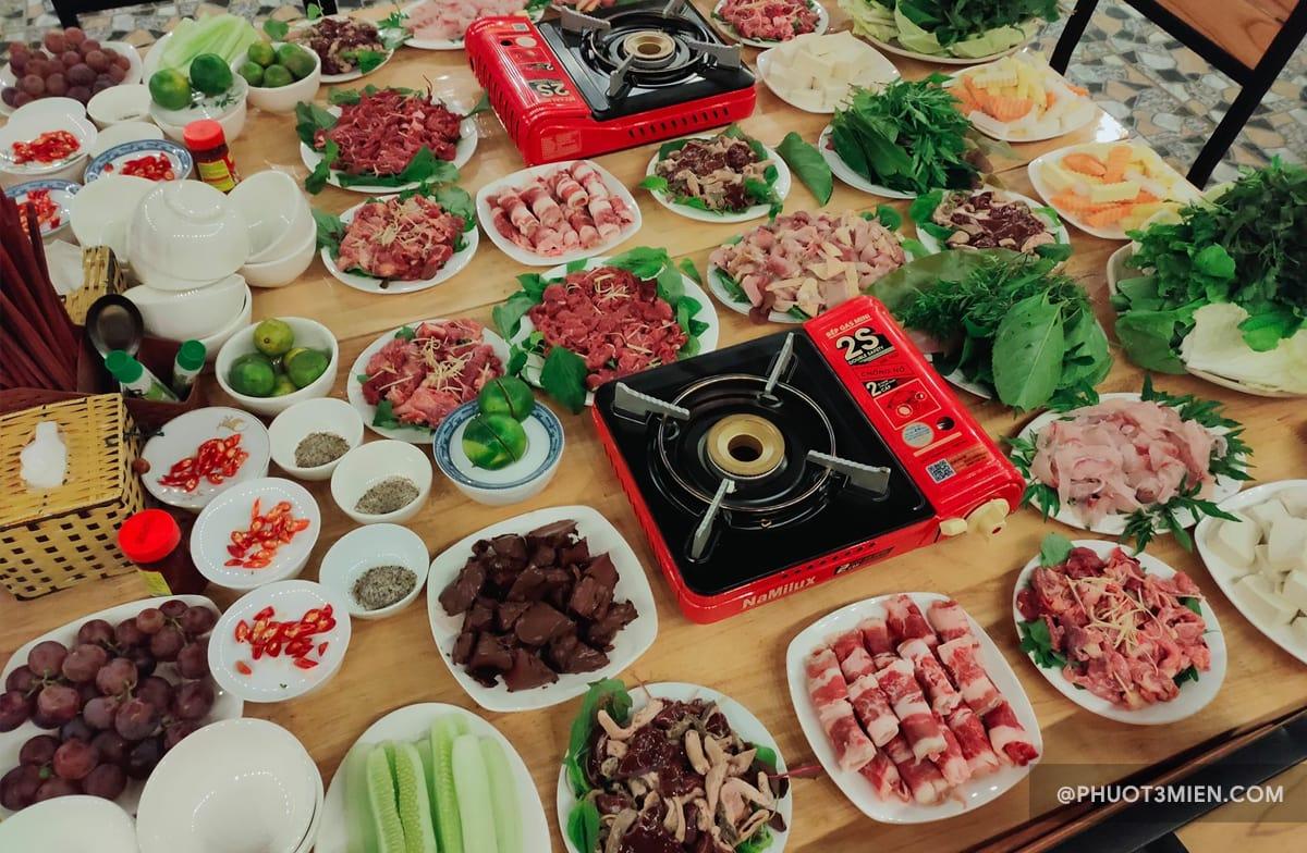 ẩm thực tại homestay