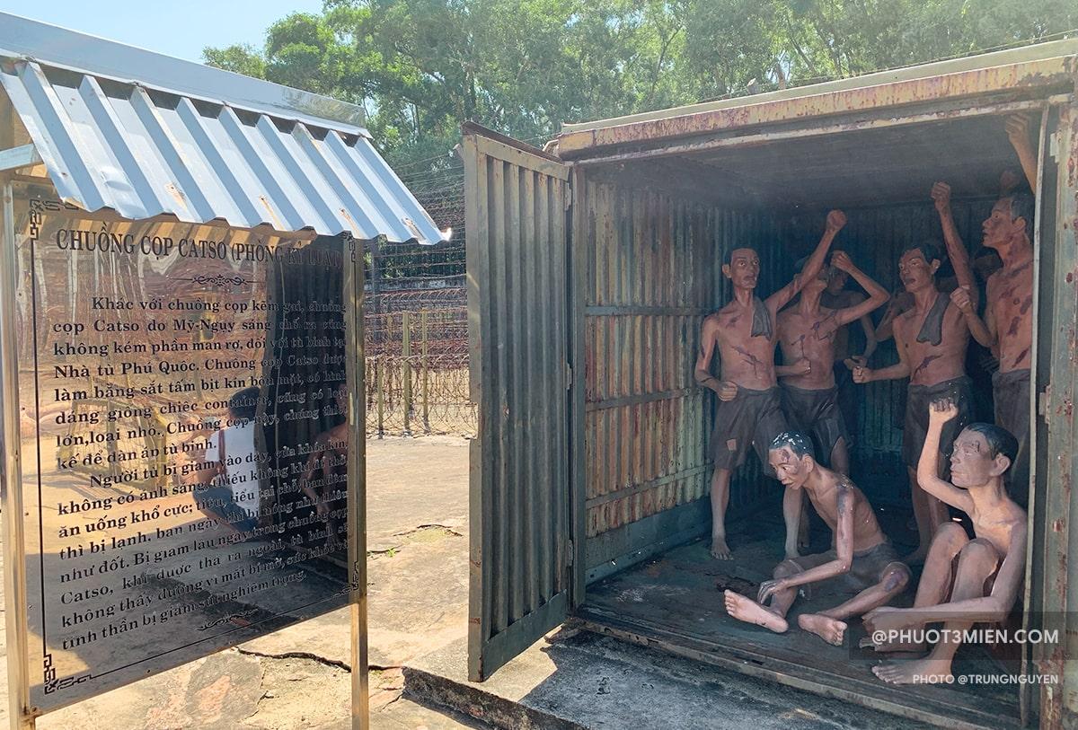 Chuồng cọp catso tại nhà tù côn đảo