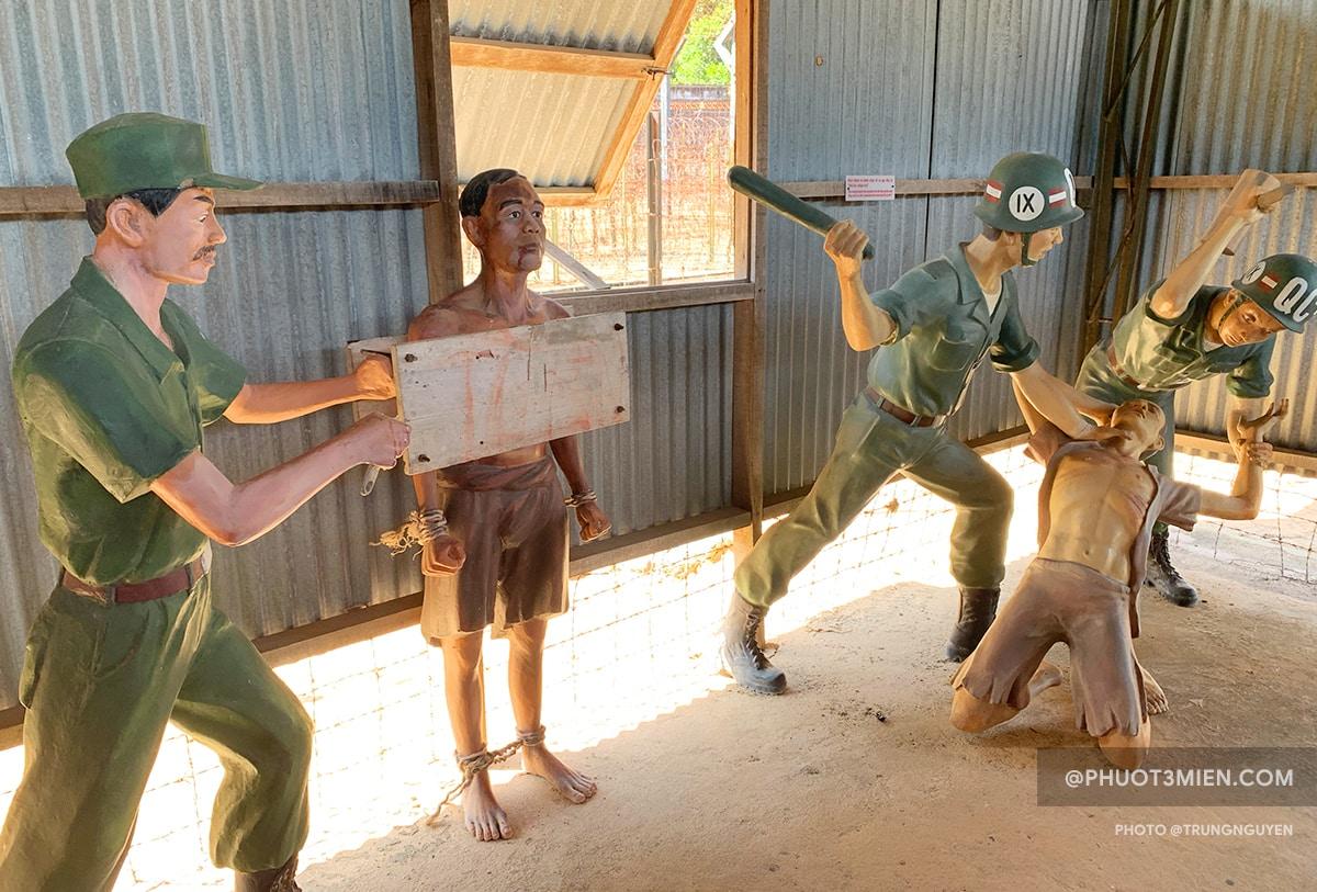 tra tấn bù binh ở nhà tù phú quốc
