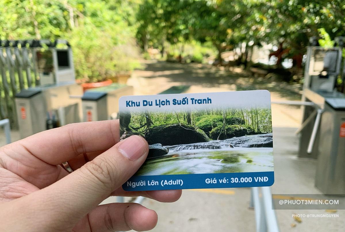 vé tham quan khu du lịch suối tranh phú quốc