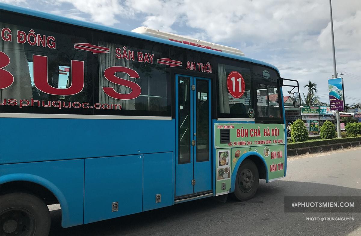 xe bus dương đông - an thới