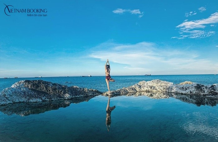 Hồ bơi vô cực tự nhiên giữa biển có làm bạn say đắm?. Ảnh: ST