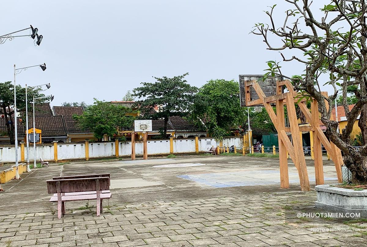 sân bóng rổ lễ nghĩa