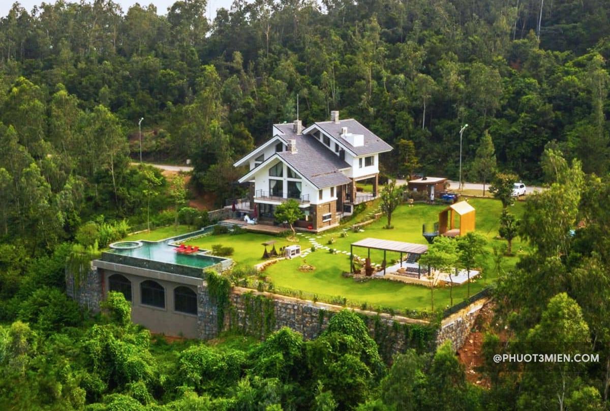 spring moon villa ở tam đảo