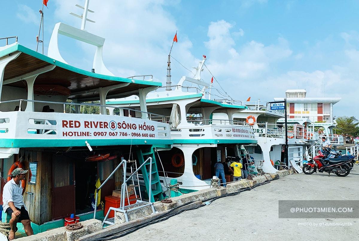 tàu đi tour 3 đảo phú quốc