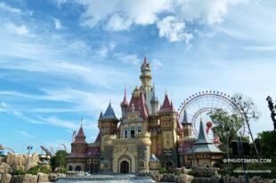 lâu đài nguy nga tráng lệ