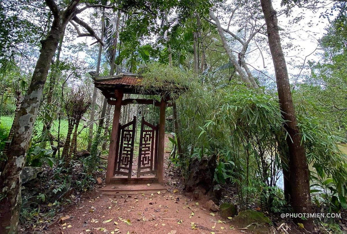 đường vào chùa