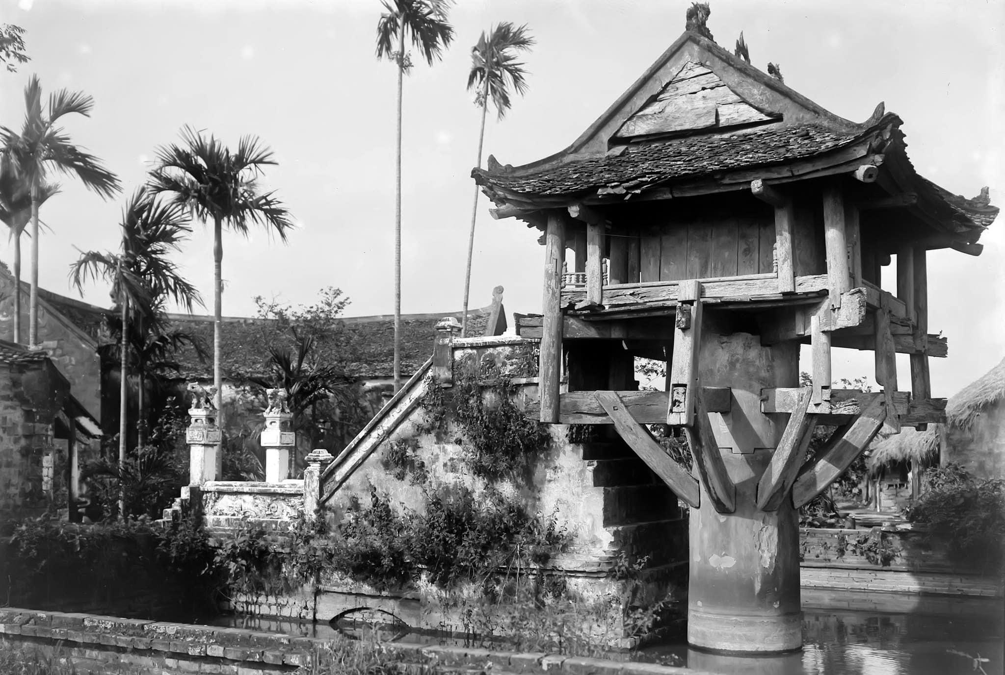 hình ảnh Chùa Một Cột xưa