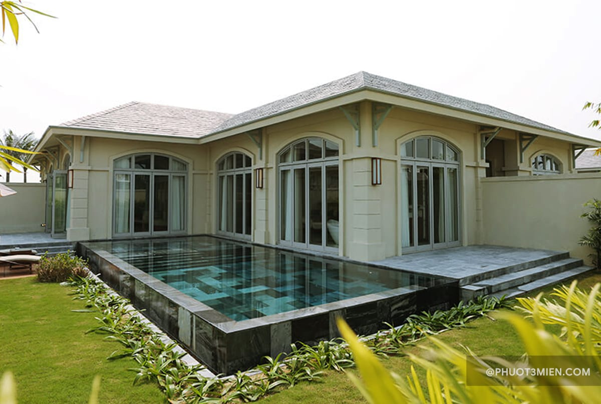 pool villa sầm sơn