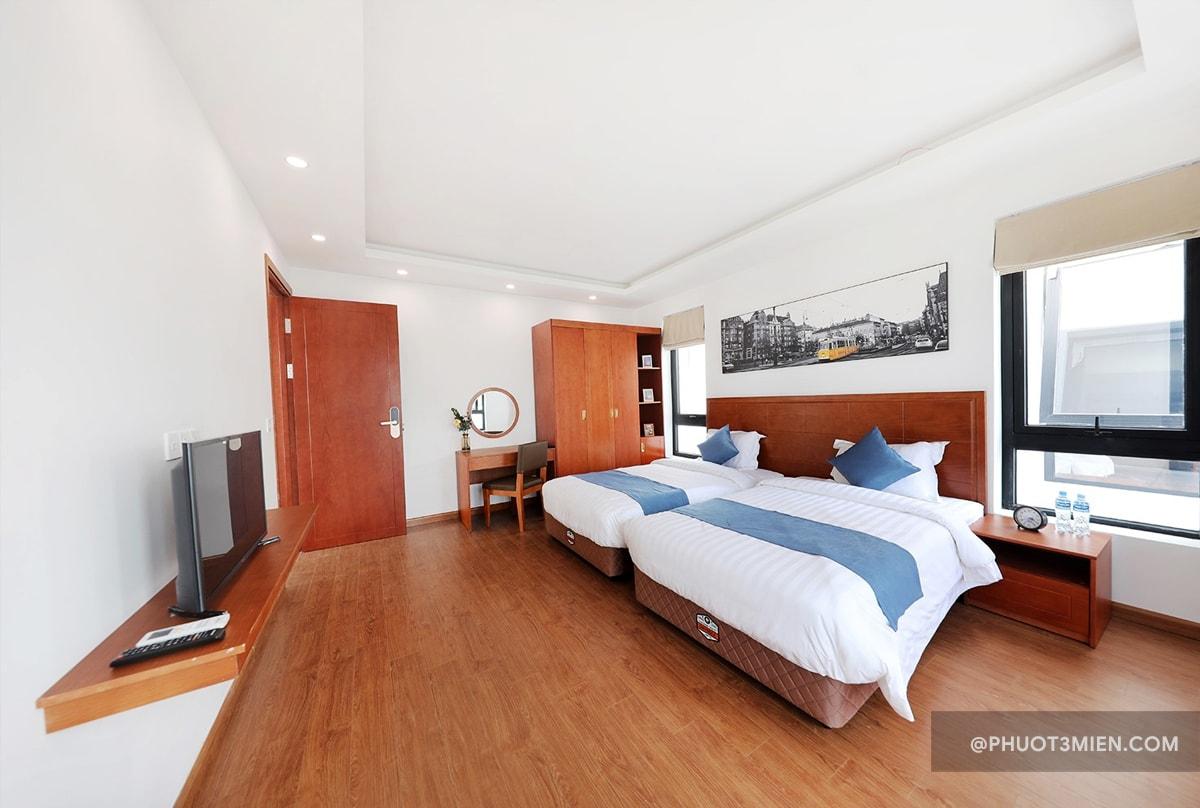 phòng ngủ sunrise villas