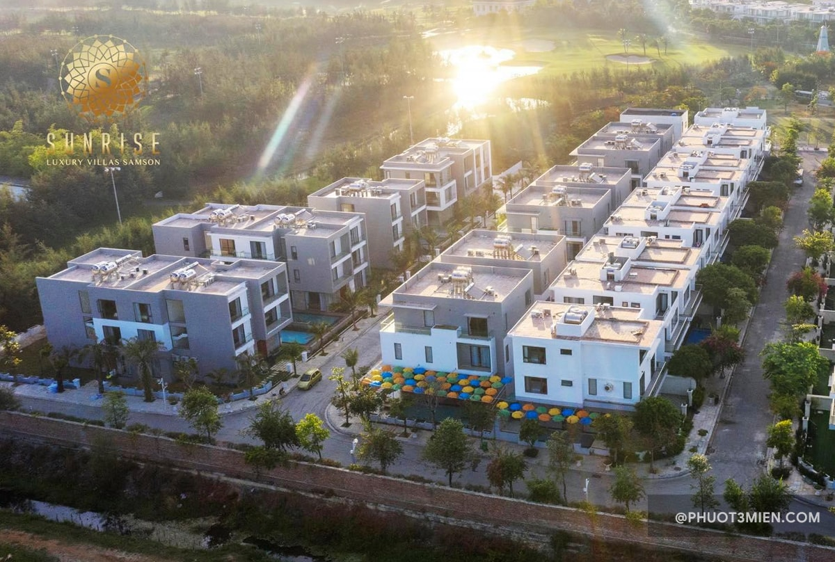 sunrise villas sầm sơn