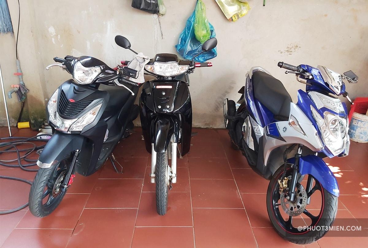 Thuê xe máy tại gia lai