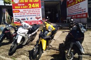 thuê xe máy tại pleiku