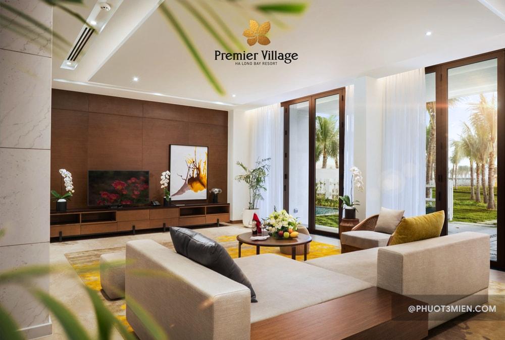 Phòng tại Premier Village Ha Long Bay Resort