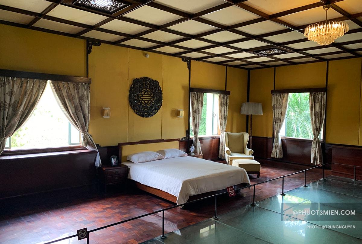 Phòng ngủ của tổng thống